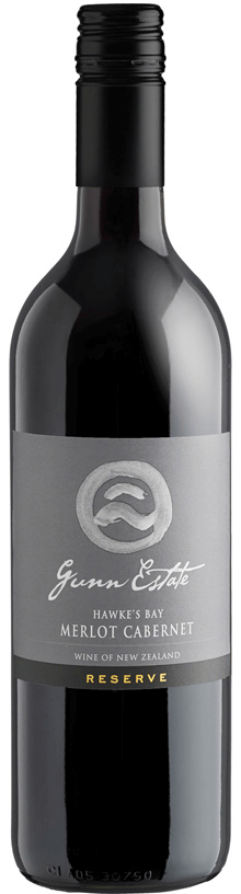 Reserve Hawke's Bay Merlot Cabernet Wine - Gunn Estate Winery